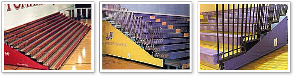 Bleacher End Closures (patented)