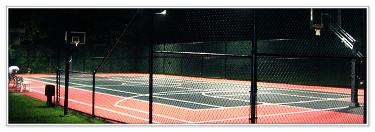 Basketball court lighting backyard commercial courts sports facilities aloadofball Choice Image
