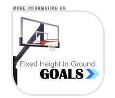 fixed heigth basketball hoops