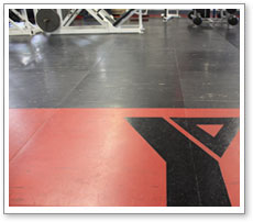 Tiled Floor for Gyms