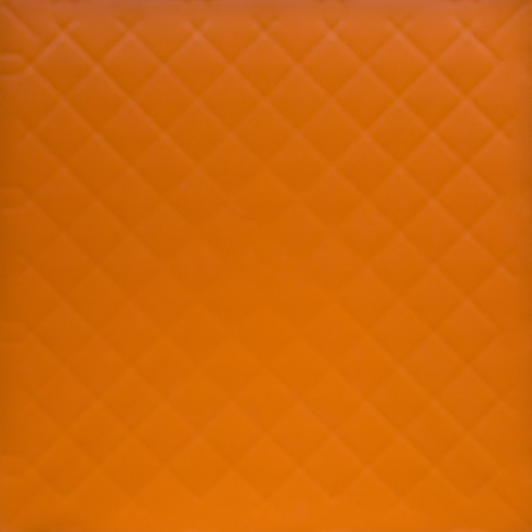 Orange GymFlex indoor athletic tile