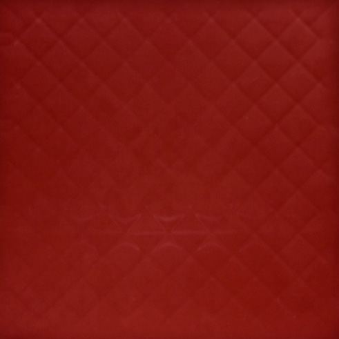 Red GymFlex indoor athletic tile